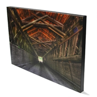 Traditional Thick Canvas Photo Wrap